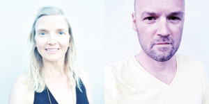 HeartFire is a co-creation of Danielle Doeve (left) & Jeroen van Kemenade (right).
