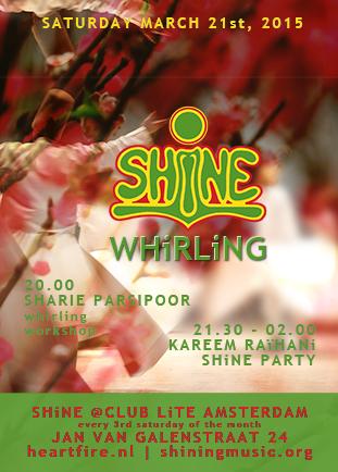 SHiNE Whirling Into Spring Kareem Raihani Sharie Parsipoor HeartFire 201503
