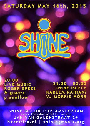 SHiNE 201505 Flyer Kareem Raihani Roger Spees