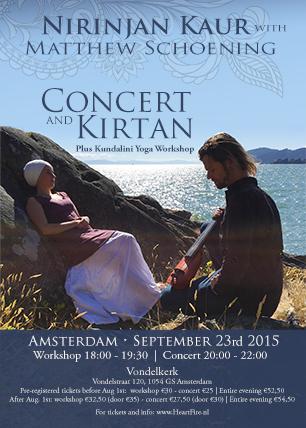 Nirinjan Kaur Concert Workshop Amsterdam 2015 HeartFire