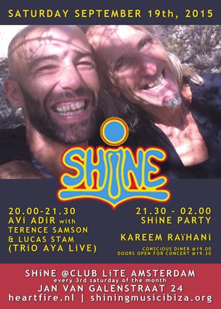 SHiNE Kareem Raihani Avi Adir HeartFire 2015 09 19