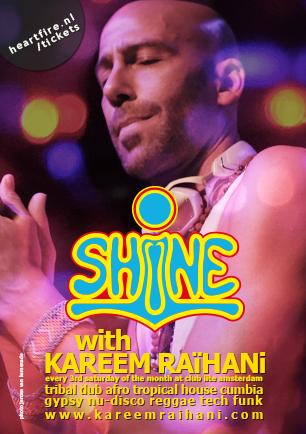 SHiNE Kareem Raihani Club Lite Amsterdam HeartFire
