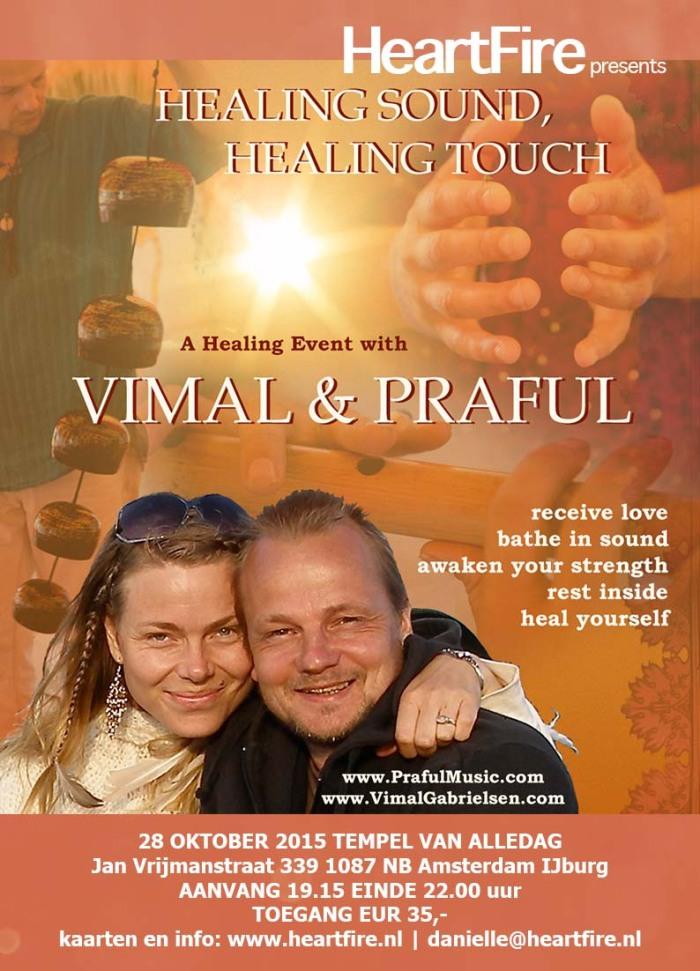 Praful Vimal Healing Sound Healing Touch 20151028