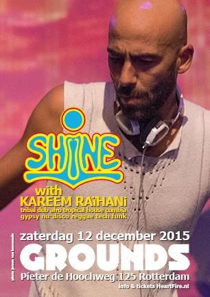 SHiNE Ground Rotterdam Kareem Raihani HeartFire