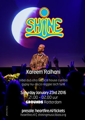SHiNE 20160123 Grounds Rotterdam Kareem Raihani HeartFire