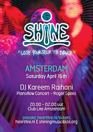 SHiNE Kareem Raihani Roger Spees HeartFire Amsterdam 20160416