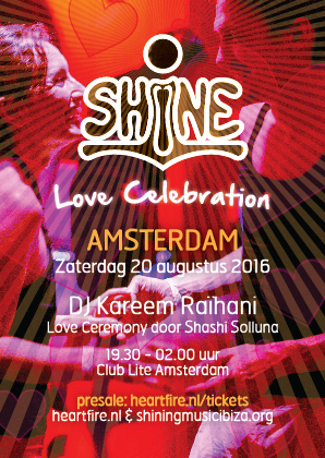 SHiNE Amsterdam Kareem Raihani HeartFire 20 08 2016