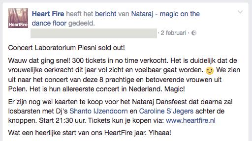 Laboratorium Piensi Concert 20170403 Sold Out