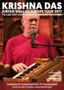 Krishna Das HeartFire Live in Concert Amsterdam 2017