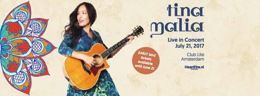 Tina Malia Live in Concert Club Lite Amsterdam 21072017 HeartFire
