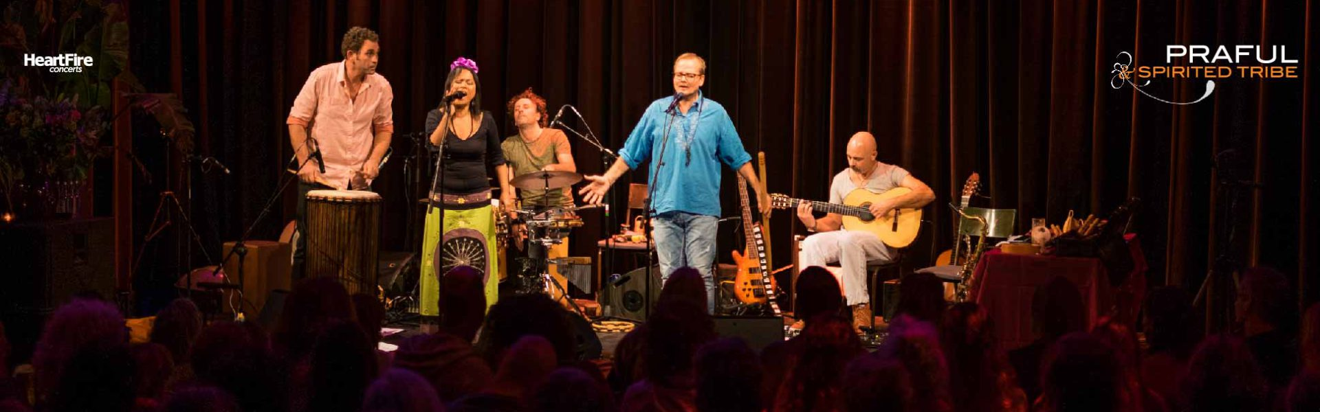 Praful & Spirited Tribe in Concert 15 October 2017 Tobacco Theater