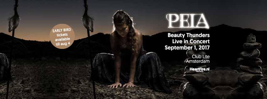 Peia Live Concert Beauty Thunders HeartFire Club Lite Amsterdam