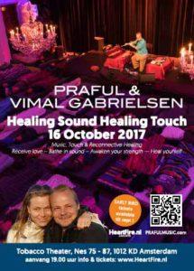 2017 Praful Vimal Healing Sound Healing Touch HeartFire Tobacco Theater 16 oktober 2017