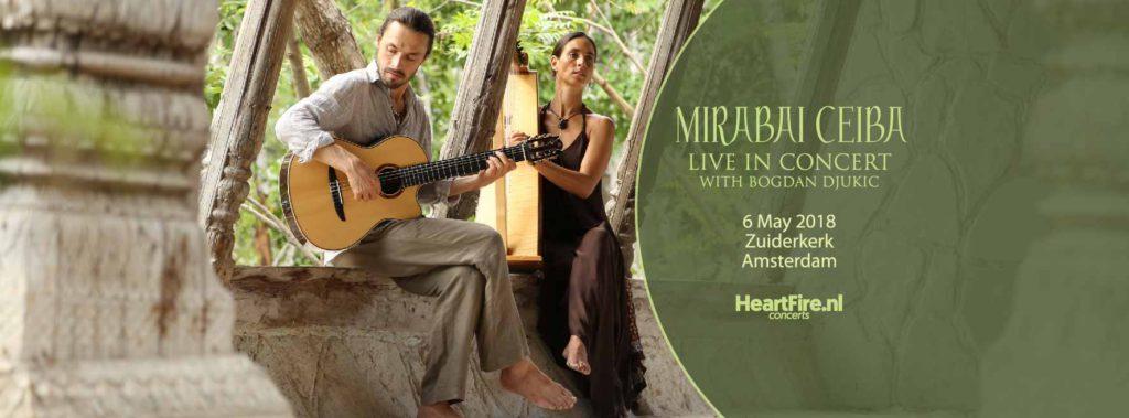 Mirabai Ceiba in Concert 6 May 2018 Zuiderkerk Amsterdam Heartfire.nl