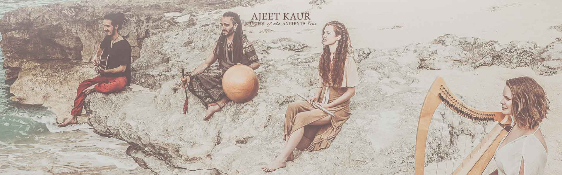 Ajeet Kaur Rhythm Of The Ancients 3 October Theater Amsterdam HeartFire.nl