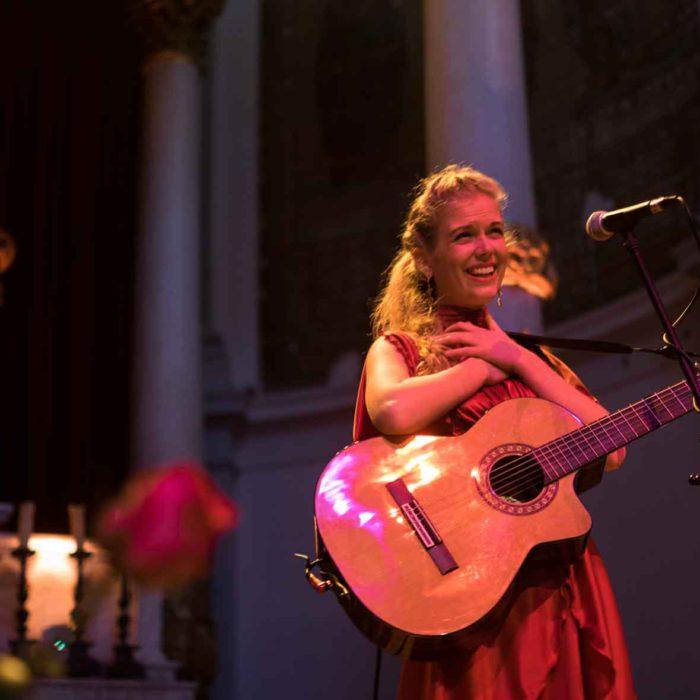 Fia in Concert Waterfall Of Wisdom Live in Amsterdam May 24 and May 25, 2019 HeartFire.nl photo Jeroen van Kemenade