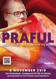 Praful in Concert Van Houtenkerk Weesp 8 november 2019 HeartFire.nl