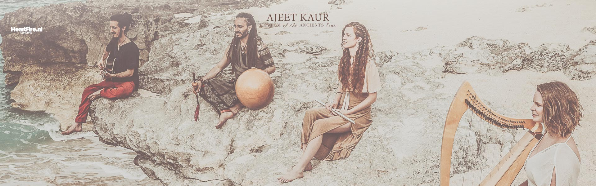 Ajeet Kaur :: Rhythm Of The Ancients :: 3 October 2020 @Theater Amsterdam