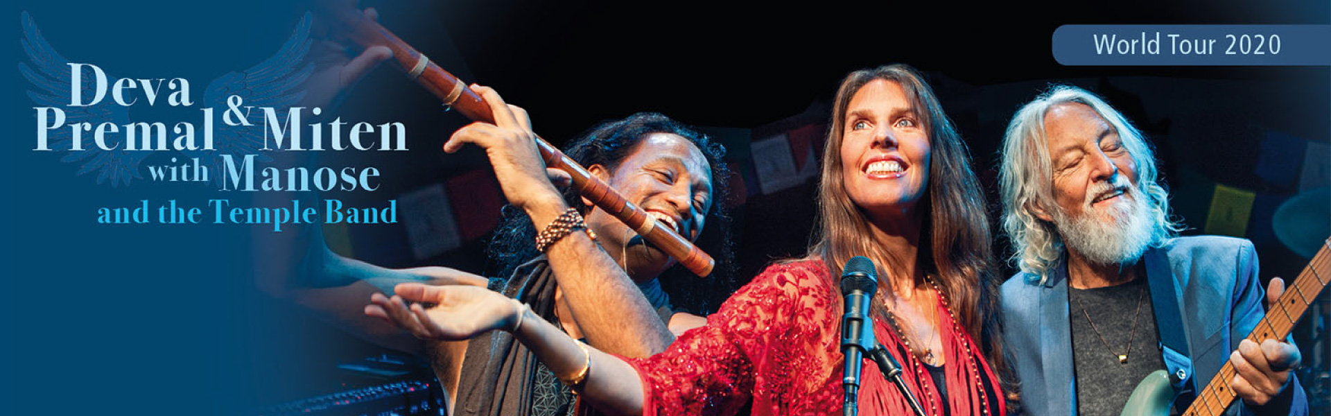Deva Premal & Miten with Manose and the Temple Band :: 21 & 22 October 2020 @KAF Almere