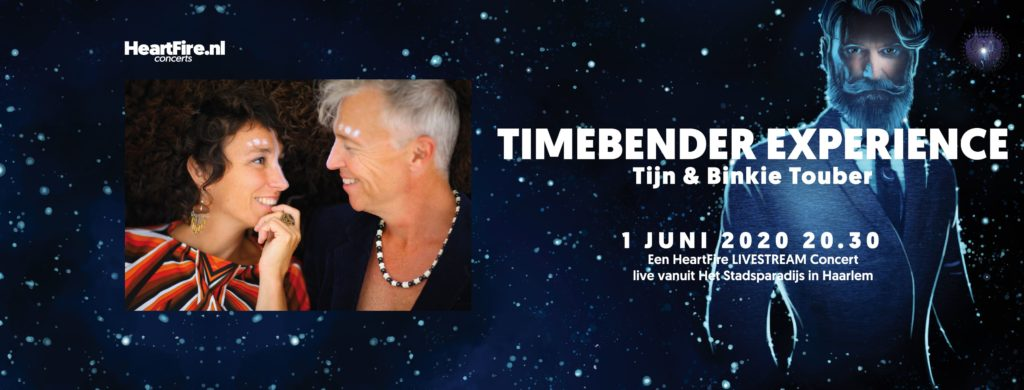 Tijn Touber Timebender Experience HeartFire.nl 1 juni 2020 Stadsparadijs Haarlem