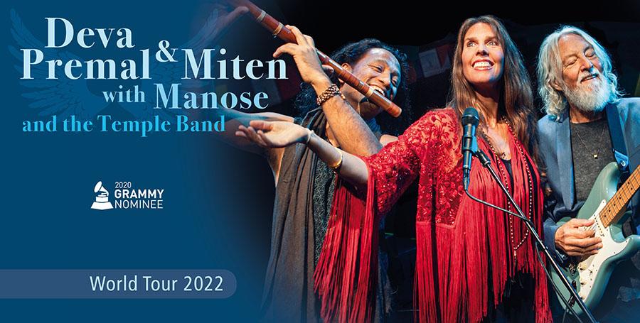 Deva Premal Miten Tour 2022