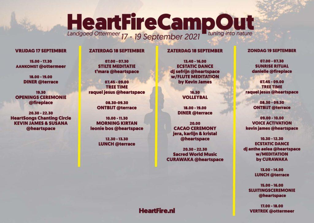 HeartFire CampOut Program